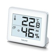 دماسنج و رطوبت سنج بیورر مدل Beurer Thermometer And Hygrometer HM16